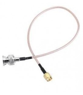50 cm cable with BNC Male to SMA Male Connector